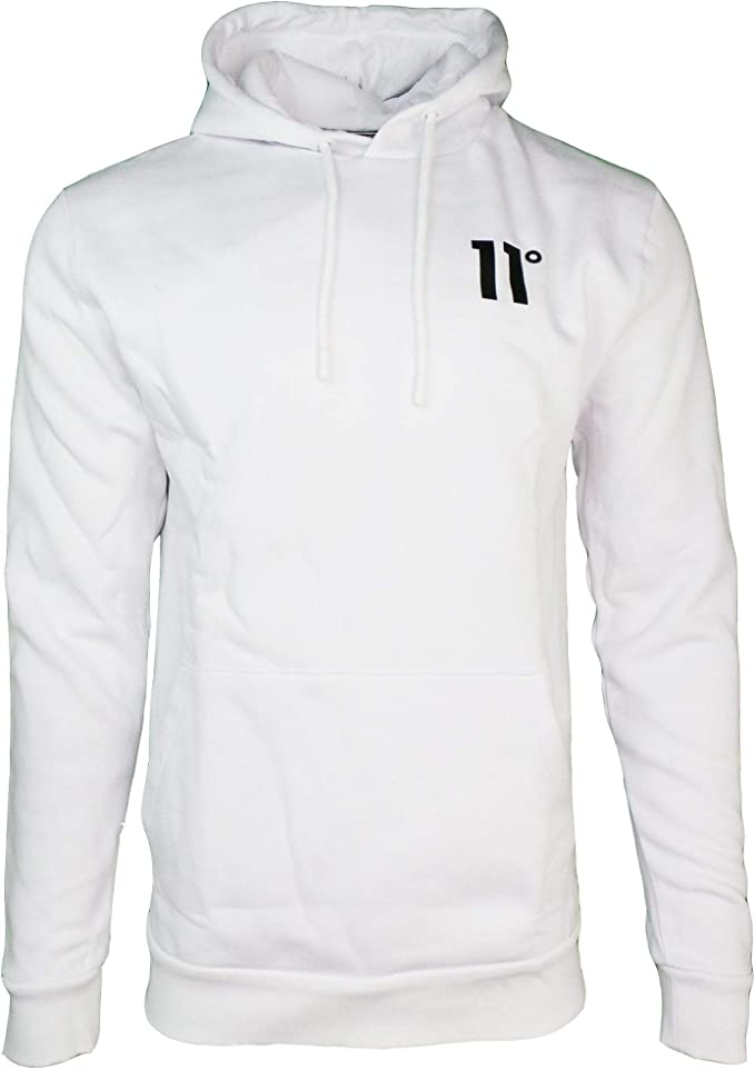 Mens 11 Degrees Core Pullover Hoodie OTH Hooded New