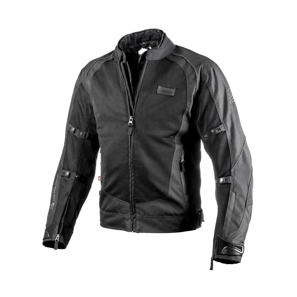 Shima X-MESH Tama/ño: M Sport Verano Reflexivo Elegante Comodidad Chaqueta de Moto Negro S-XXL