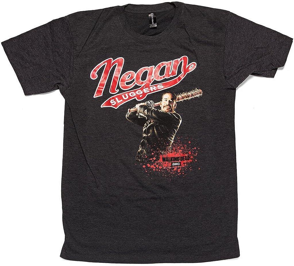 Walking Dead T-Shirt Lucille Baseball Bat GRAY New Officially Licensed S-3XL