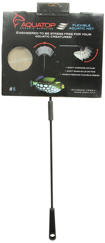 AquaTop Aquarium Fish Net 8' - Flexible FN8S - Small Hole Mesh Inc. AQUATOP-FN8-S