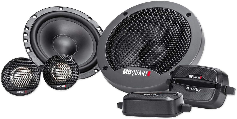 MB Quart Formula 6.5 inch 3-Way coaxial car Speakers
