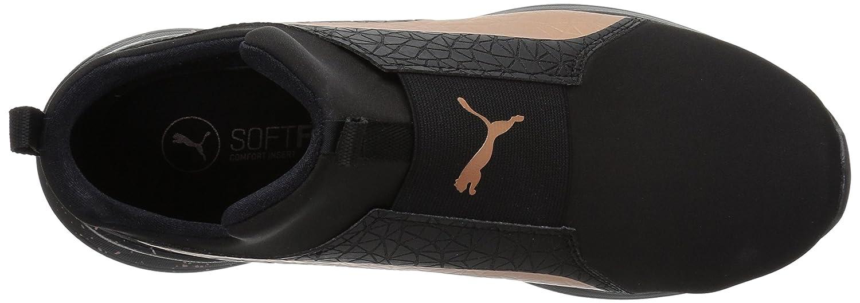 PUMA Women's Rebel Mid WNS Mettallic US|Puma Sneaker B0756GNYWP 7.5 B(M) US|Puma Mettallic Black Rose Gold 60f901
