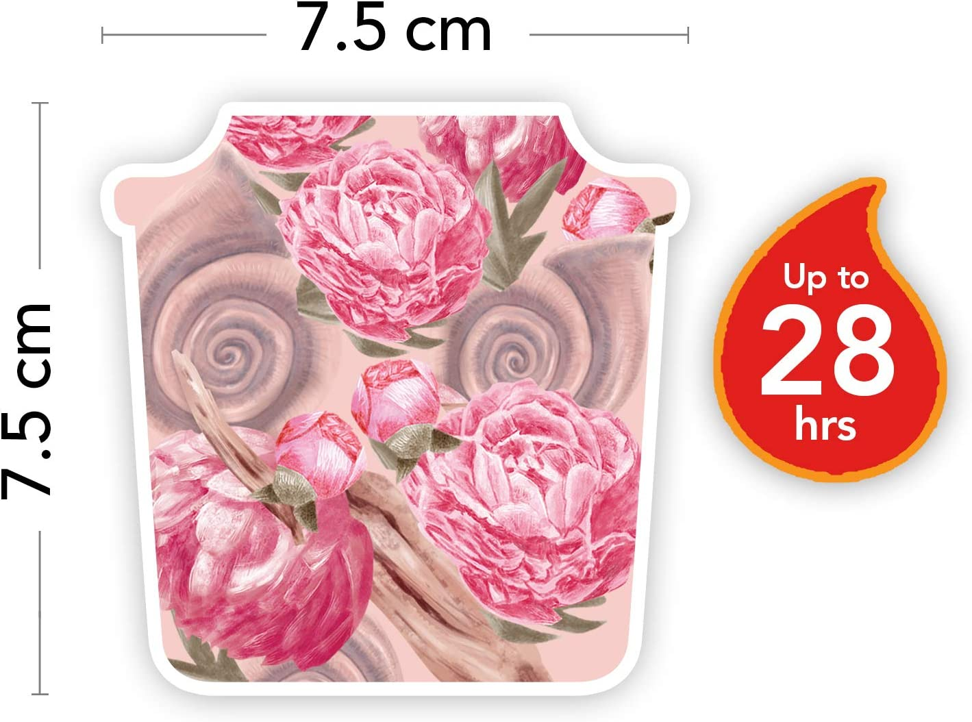 n//a Yankee Candle Bougie carr/ée Petit format rose