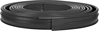 product image for Suncast Professional Landscape Edging Roll with Double Ridge Design, 60' Coil, Black