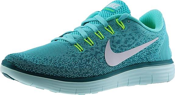 NIKE Womens Free Rn Distance Running Shoe (6.5 B(M) US, Hyper Turq/White-Hyper Jade Rio Teal)