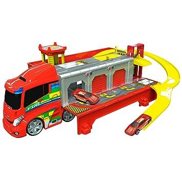 esJuguetes Y Juegos BomberosAmazon Teamsterz 1416429 Camión De Ybf76gyv