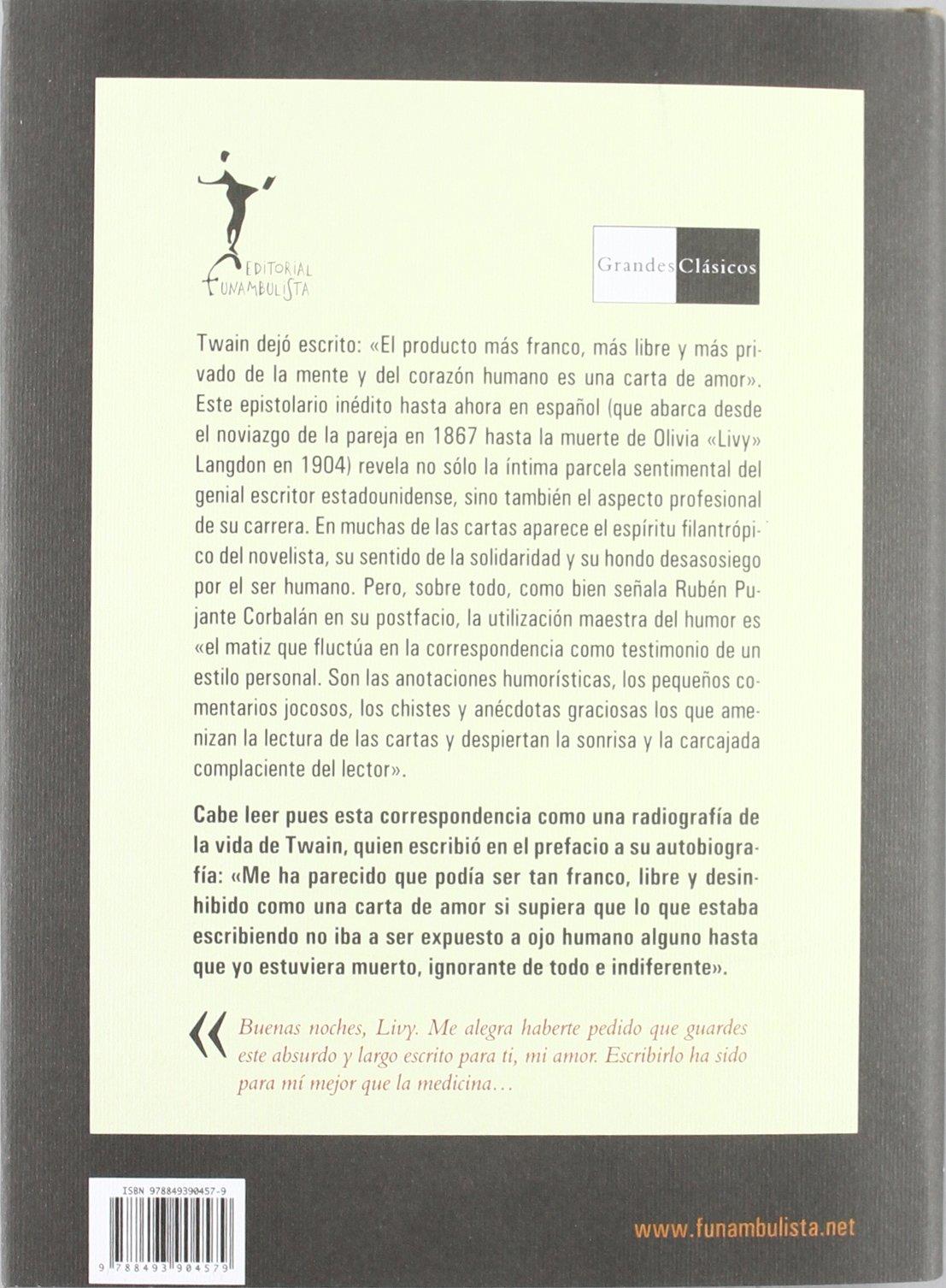 Cartas de amor (Grandes clásicos): Amazon.es: Mark Twain ...