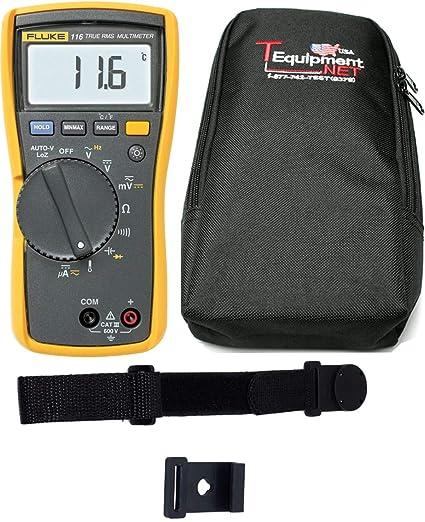 Amazon com: Fluke 116 PRO TE HVAC True RMS Multimeter: Home