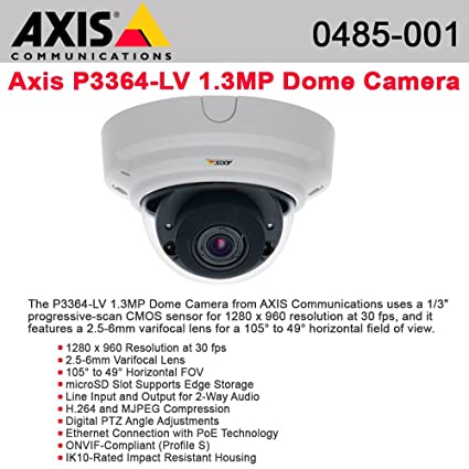 AXIS P3364-LV NETWORK CAMERA TELECHARGER PILOTE