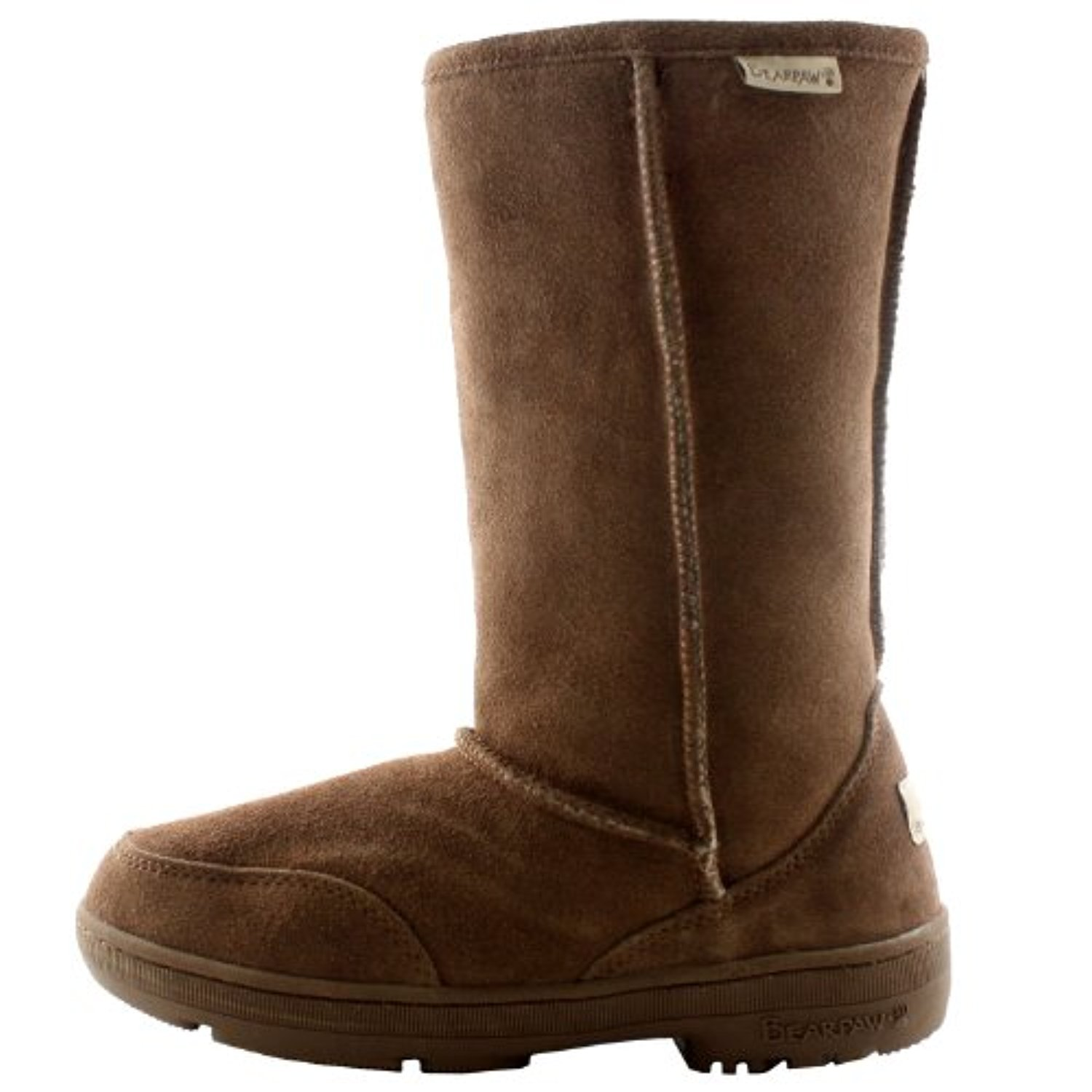 BEARPAW Women's Meadow Mid Calf Boot B00IV3QMDC 6 B(M) US|Hickory/Champagne Ii