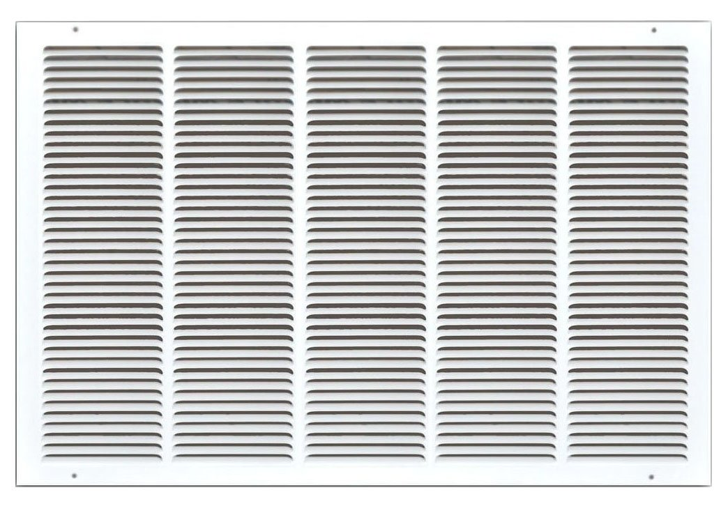 Speedi-Grille SG-3020 RAG 30-Inch by 20-Inch White Return Air Vent Grille with Fixed Blades