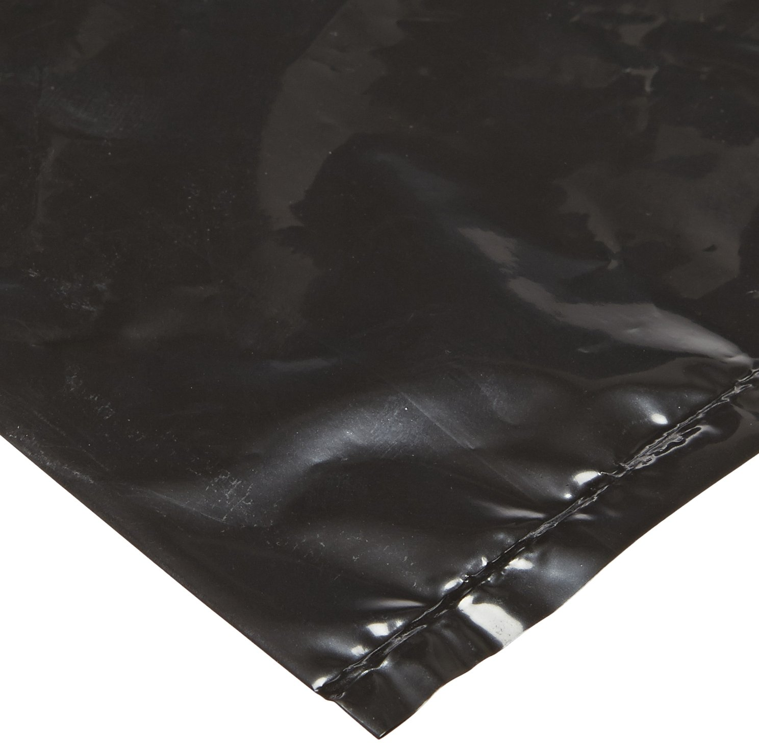 ACL Staticide 5076B Polyethylene Anti-Static Waste Basket Liner, 34'' Length x 24'' Width, Black (Pack of 50)