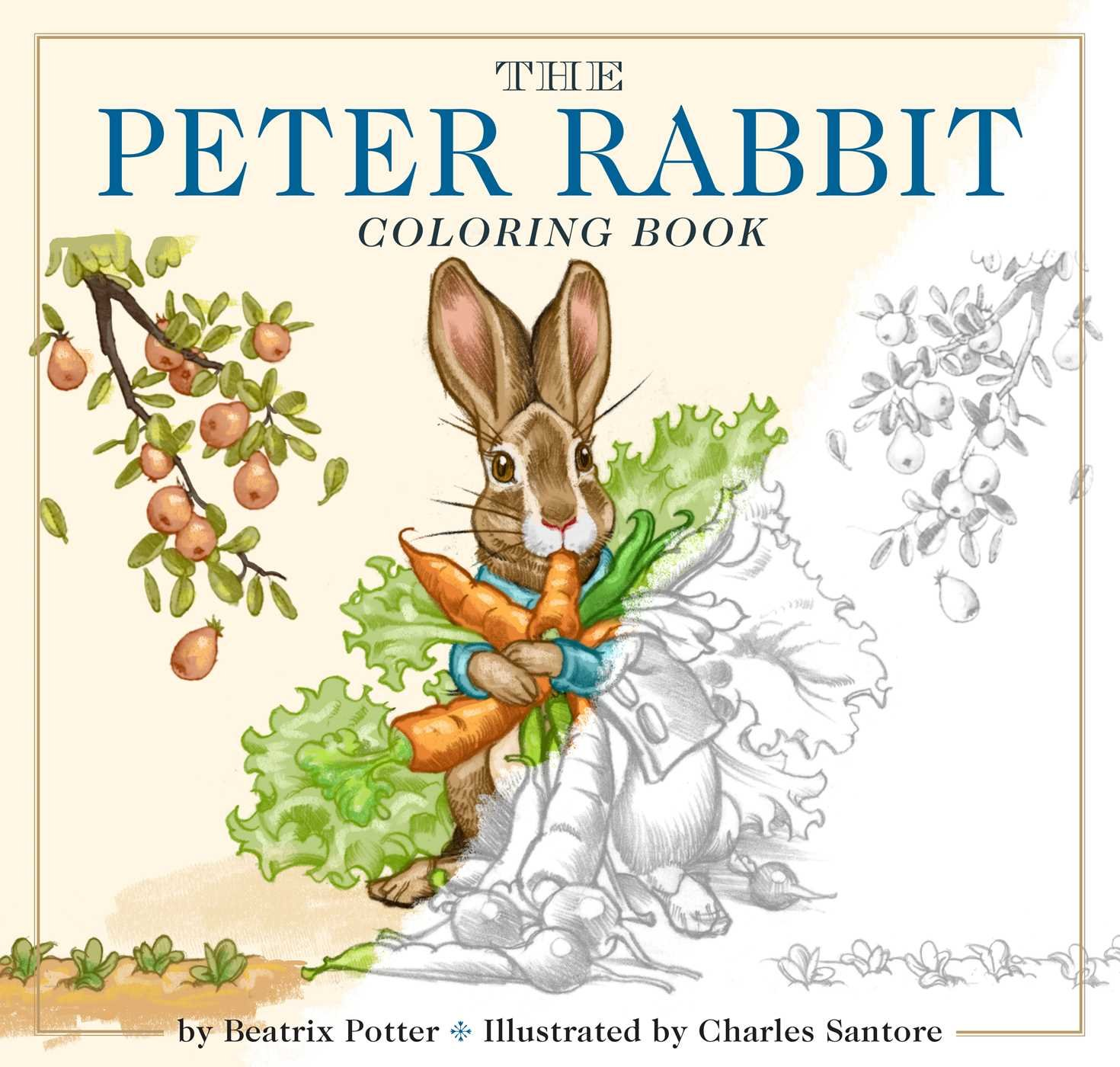 The Peter Rabbit Coloring Book: A Classic Editions Coloring Book ...