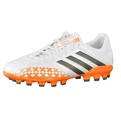 sports shoes e9dc2 7c01f adidas PREDATOR ABSOLADO LZ WORLD CUP 2014 AG J Black White Junior Football  Soccer Shoes