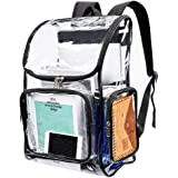 Heavy Duty Clear Backpack Security Transparent PVC Backpack for Work, Security Check