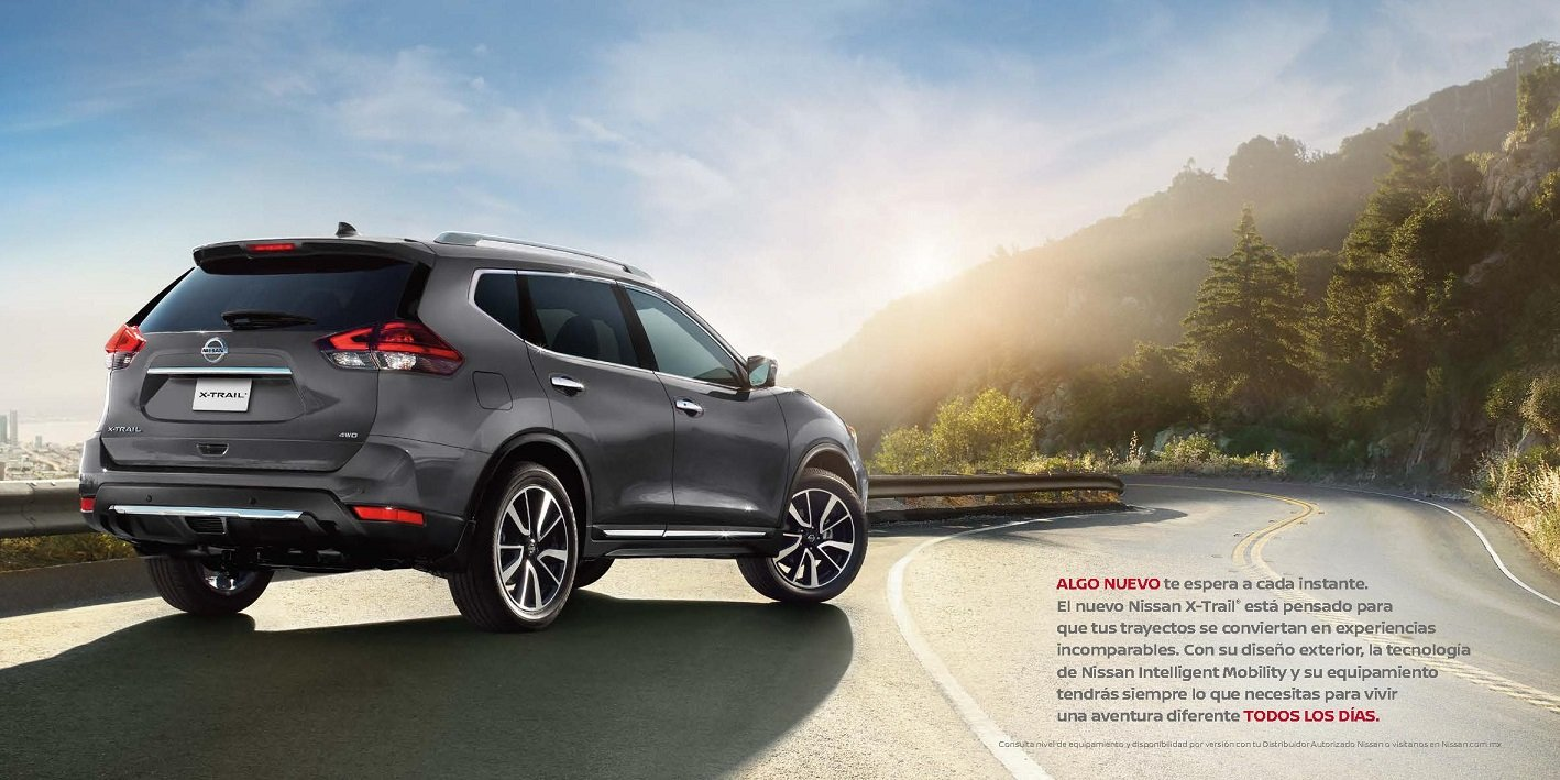 Amazon.com : 2018 NISSAN X-TRAIL SENSE, ADVANCE & EXCLUSIVE PRESTIGE COLOR SALES BROCHURE - MEXICO - SPANISH - GORGEOUS ORIGINAL!! : Everything Else