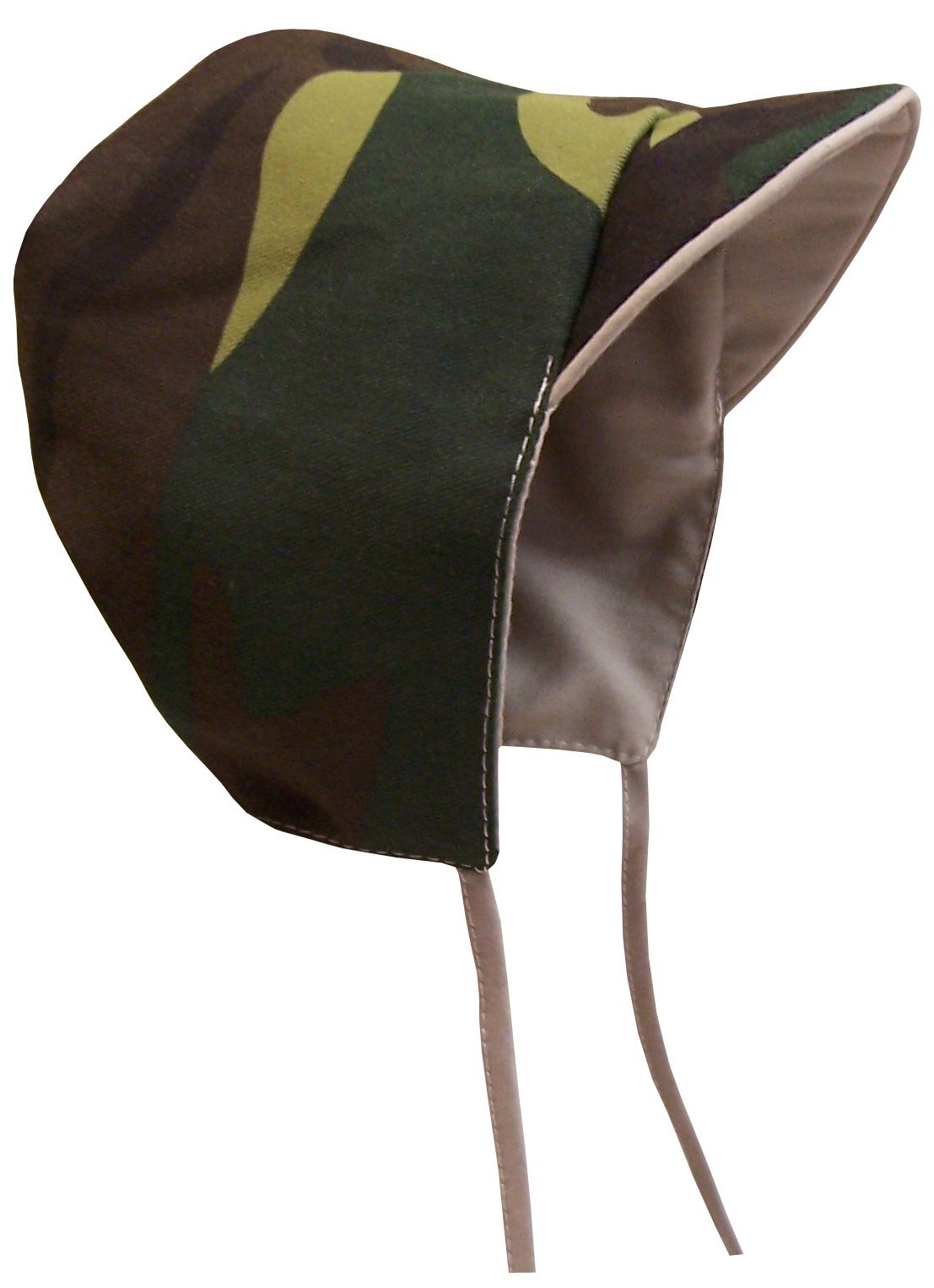 N'Ice Caps Baby Boy Reversible and Solid Cotton Twill Helmet Bonnet