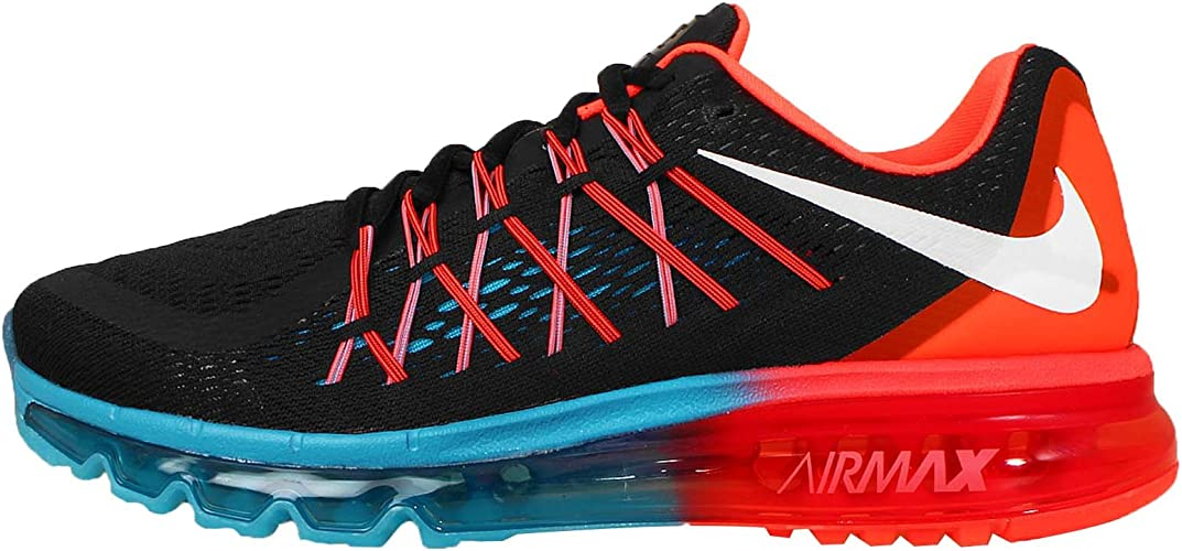 Nike Air Max 2015 Couleur: Noir Orange Pointure: 46.0