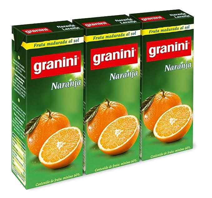 Granini - Zumo Nectar Naranja Minibrick 3 x 0,2 L