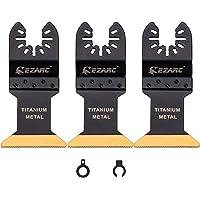 EZARC Cuchillas Multiherramienta Oscilante con Revestimiento de Titanio