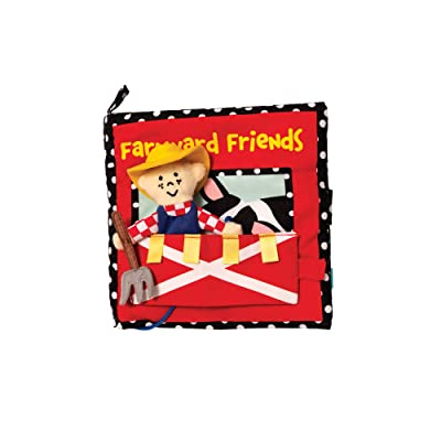 Manhattan Toy Farmyard Friends Soft Activity Book: Toys & Games