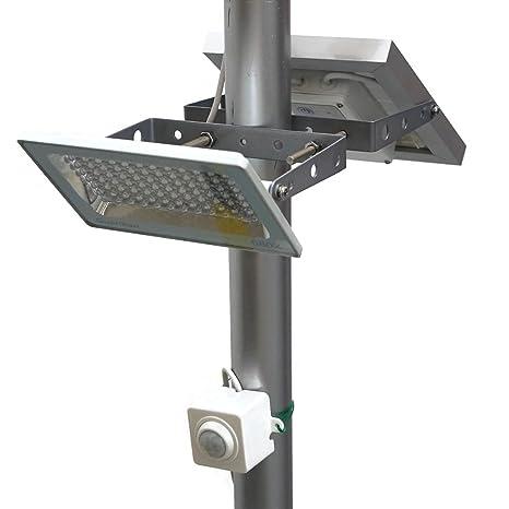 Farola solar GUARDIAN 580X con 730 lúmenes a máxima luminosidad, Sensor de Movimiento Guardian PIR