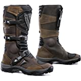 Forma Adventure Off-Road Motorcycle Boots (Brown, Size 8 US/Size 42 Euro)