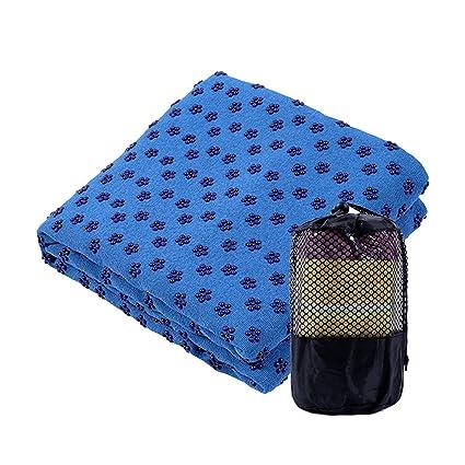 183Cmx61Cm Antideslizante Yoga Mat Cubierta Toalla Manta ...
