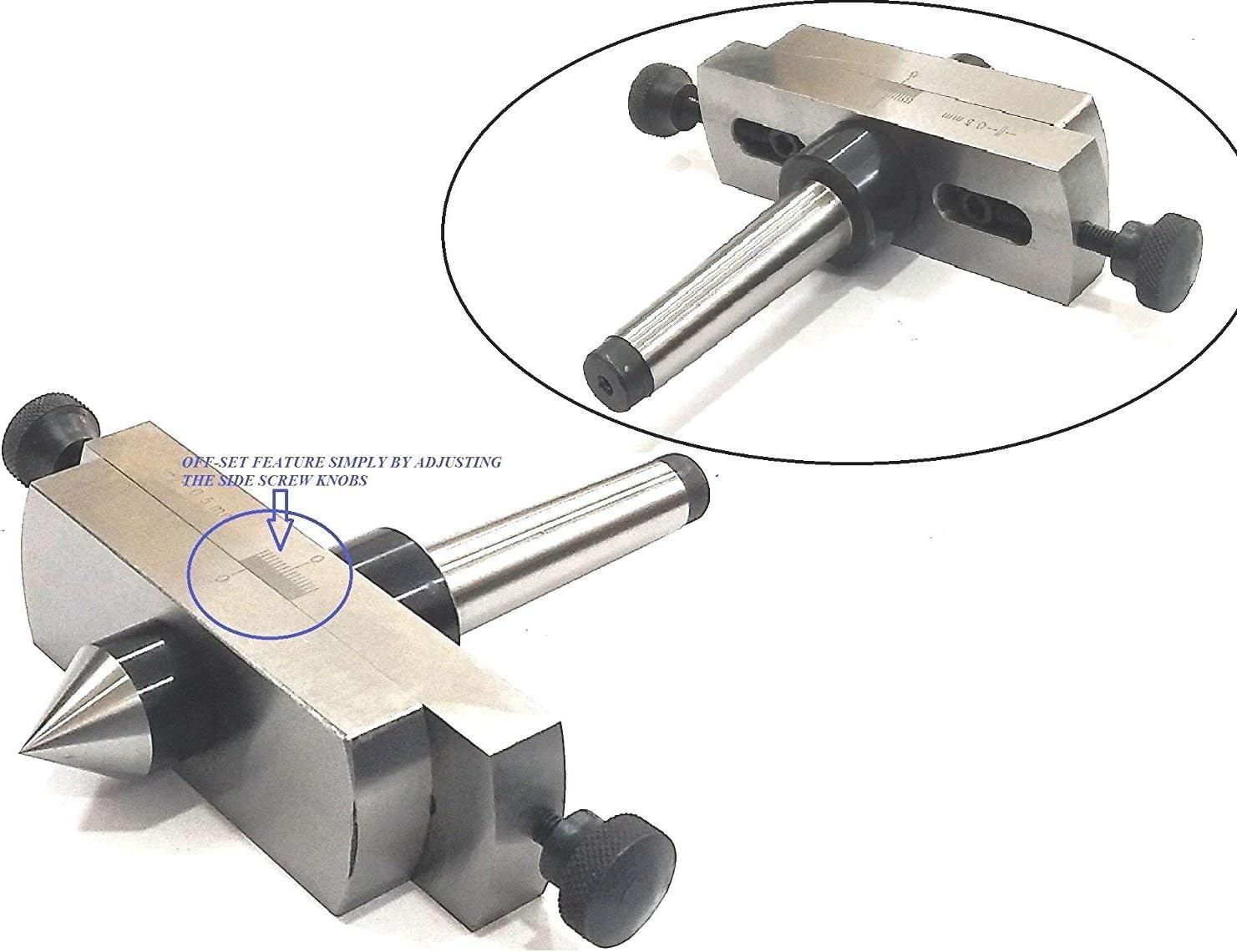 Precision Tour de Contre-pointe de fixation pour Metal-turning en fuseau Profil////facile ling/énierie machine Outil Accessoires