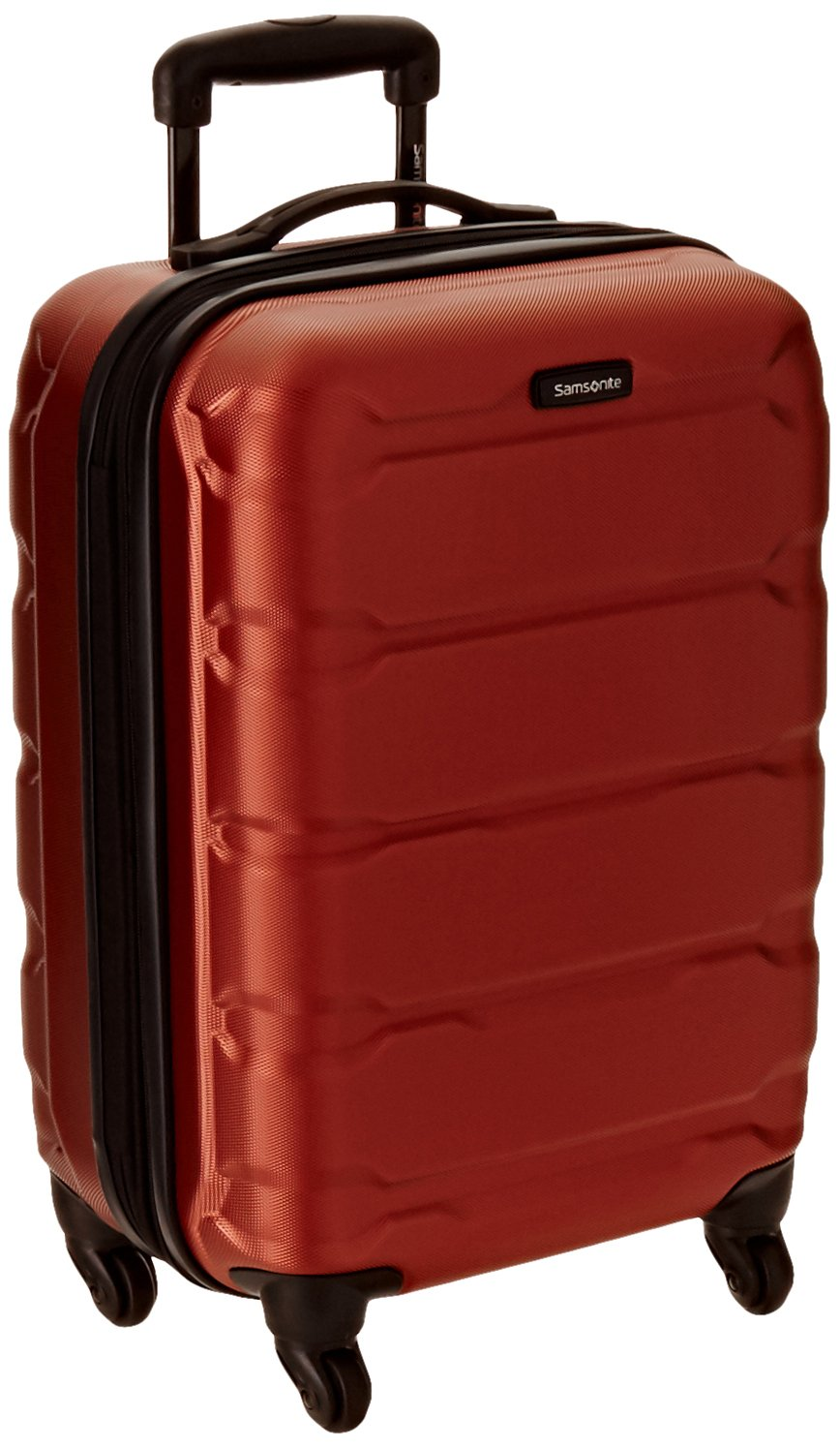 Samsonite Omni PC Hardside Spinner 20, Burnt Orange, One Size Samsonite Corporation 68308-1156