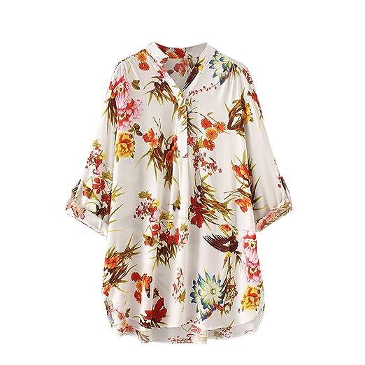 online store ea8b4 0f639 Eaylis T-Shirt da Donna Maglietta con Maniche Lunghe a ...