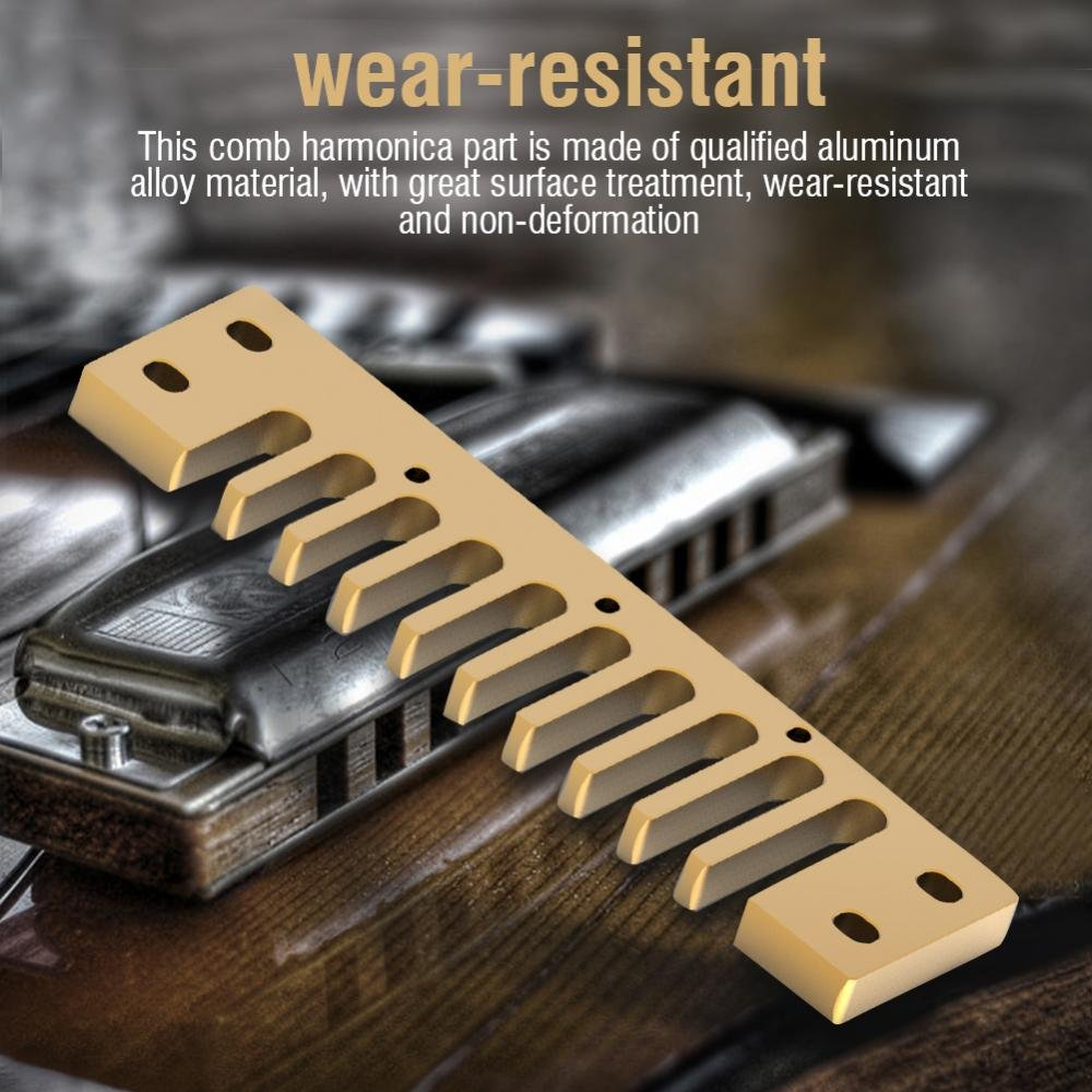 Pi/èce Harmonica Peigne Comb Harmonica pour Hohner Marine Band Crossover//Deluxe
