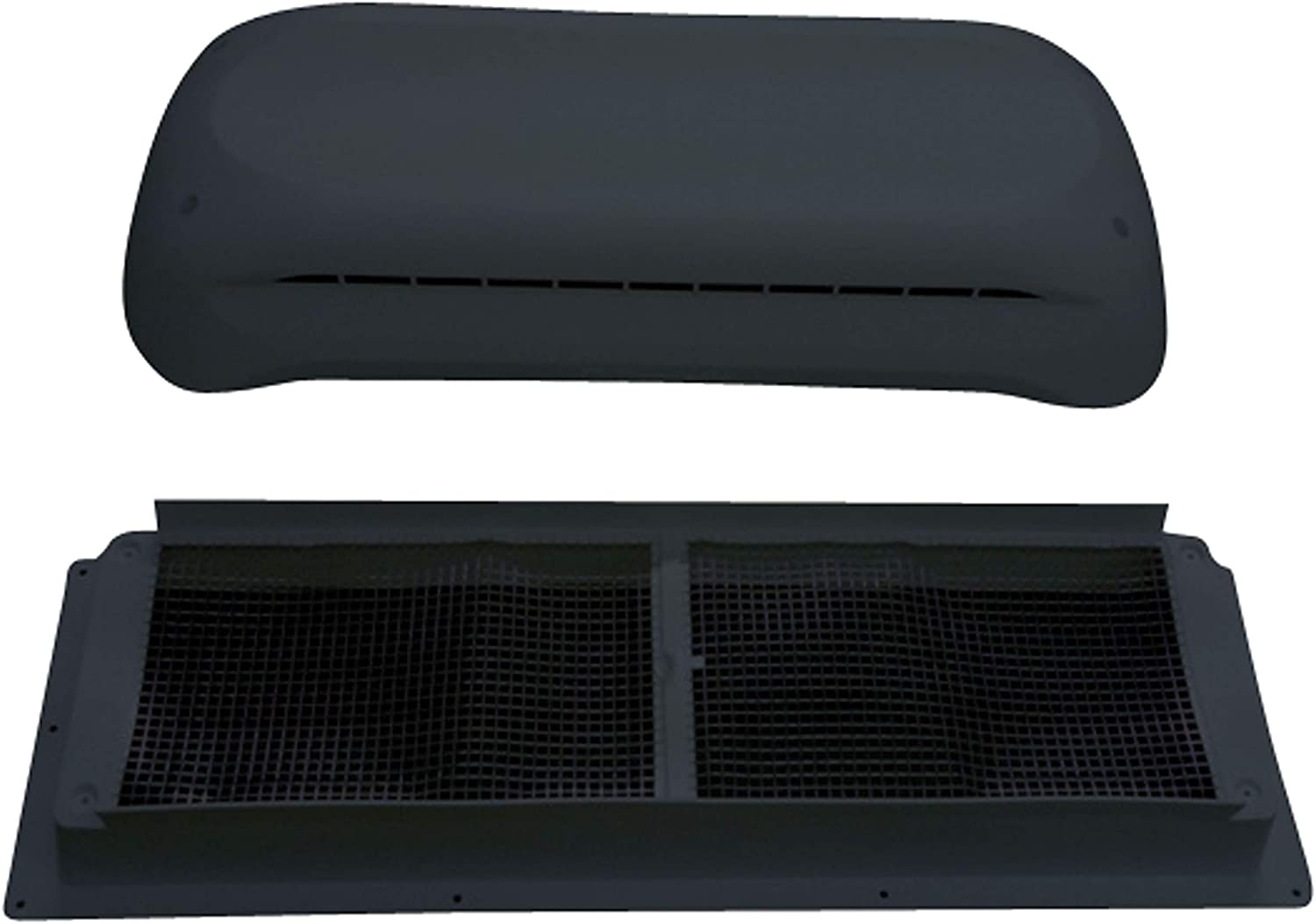 Dometic 3311236.024 Refrigerator Complete Vent Kit - Black