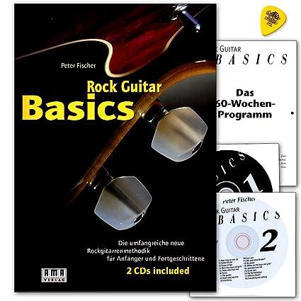 Rock Guitar Basics - die umfangreiche neue Rockgitarrenmethodik für Anfänger und Fortgeschrittene mit 2 CDs und dunlop Plek - Ama 610143 978392719040