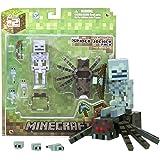 Overworld Spider Jockey: Minecraft Mini Fully Articulated Action Figure Series #2