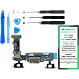Samsung Galaxy S5 G900V - (VERIZON) Charge Port Flex Cable Connector Replacement Kit with DM Tools and Instructions Included - DIYMOBILITY