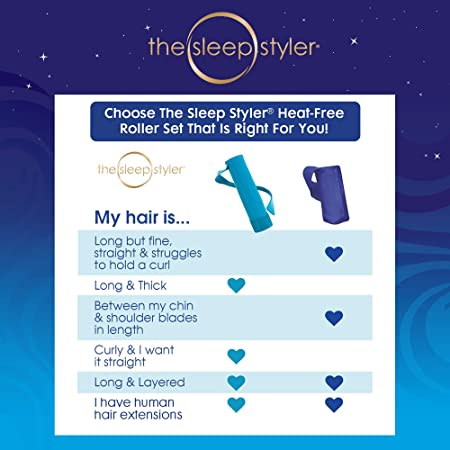 Amazon.com: El Sleep Styler Rizadores de cabello nocturnos ...