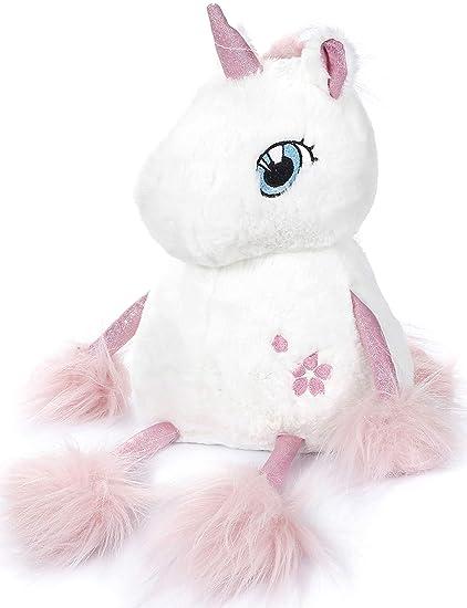 Amazon Com Sprite Beat Unicorn Plush Toy 10 Inch Stuffed Unicorns