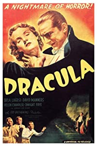 Dracula A Nightmare of Horror Movie Film Classic Poster 24x36 inch