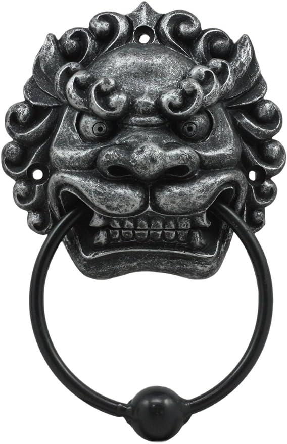 Serpent Door Knocker UD Cast Iron Dragon Doorknocker