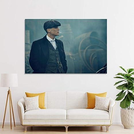 20 x 30 cm Poster sur toile Peaky Blinders D/écoration murale moderne pour chambre de famille