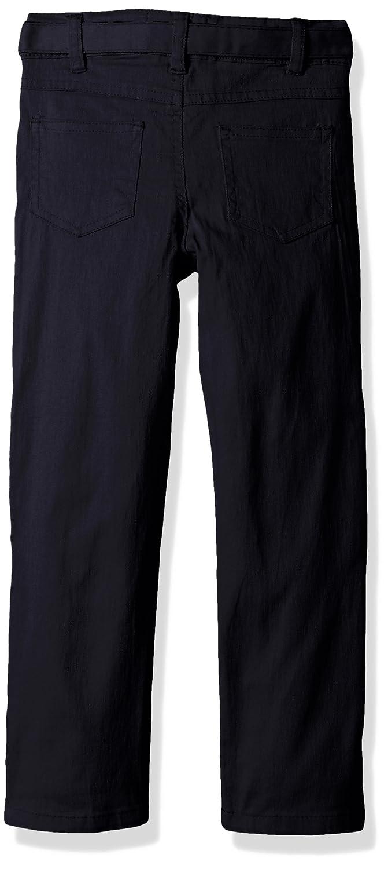 Cherokee Girls Uniform-Stretch Twill Pant Belt Flap Pocket