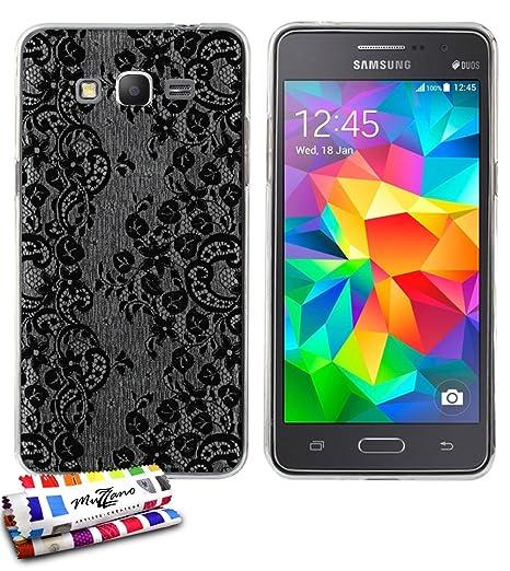 ultraplana suave Carcasa Samsung Galaxy Grand Prime [Punta ...