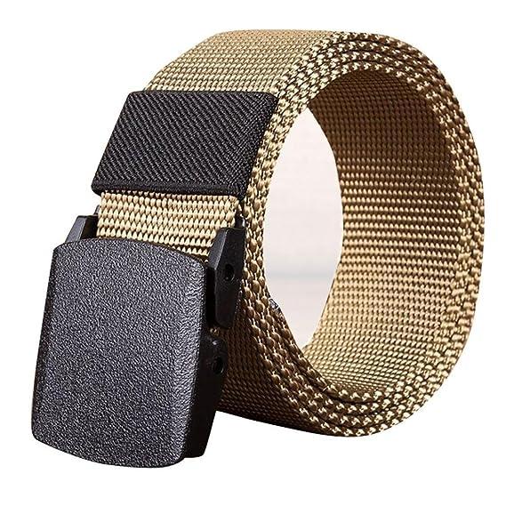 f76c2f920f6e2b FNKDOR Herren Gürtel Stoffgürtel Leinwand Nylon Canvas Sport Belts:  Amazon.de: Bekleidung