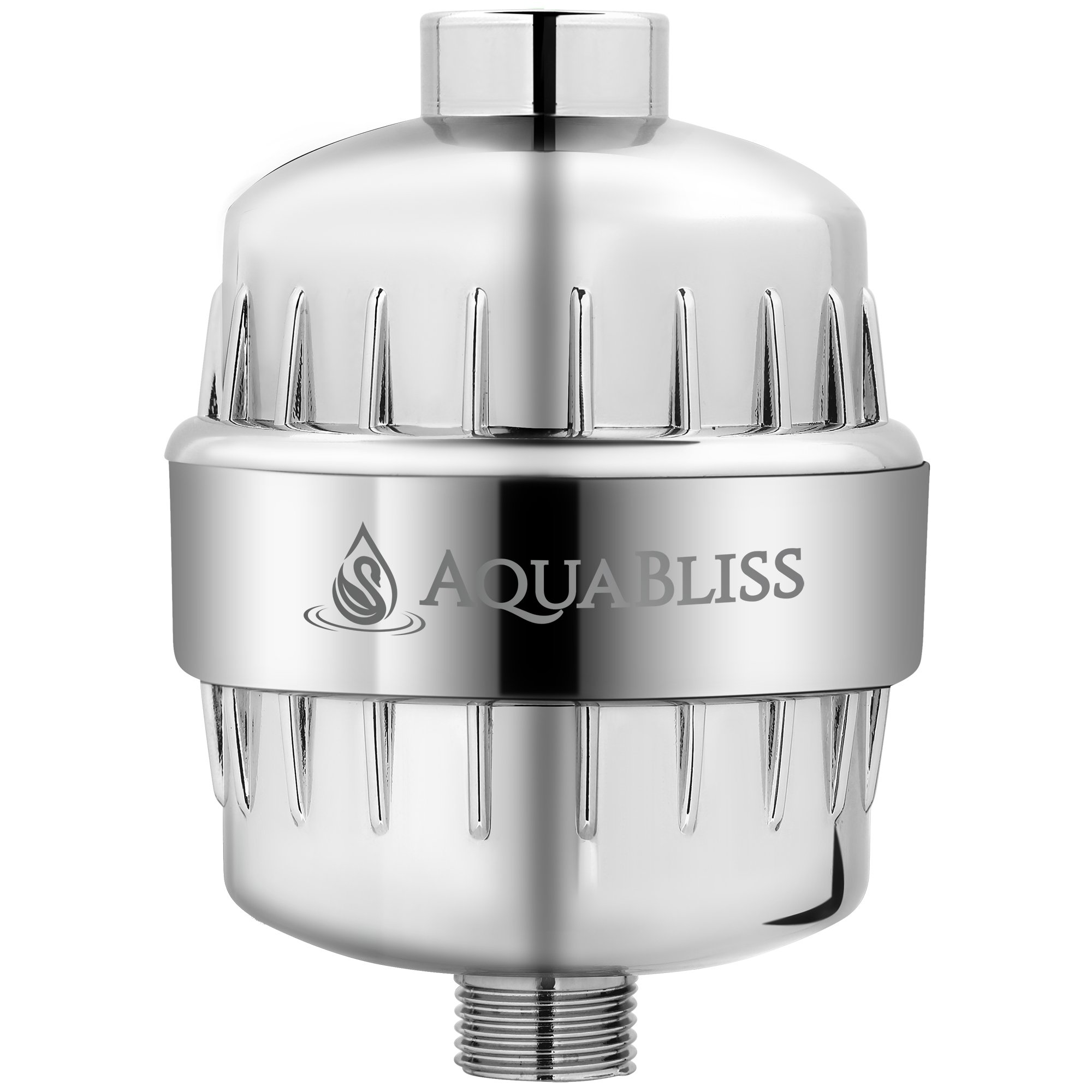 AquaBliss High Output 12-Stage Shower Filter - Reduces Dry Itchy Skin, Dandruff, Eczema, and Dramatically Improves The Condition of Your Skin, Hair and Nails - Chrome (SF100) by AquaBliss