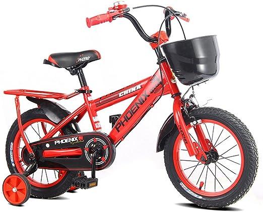 XQ Rojo Bicicleta Para Niños 3-13 Años De Edad Chico Niña ...