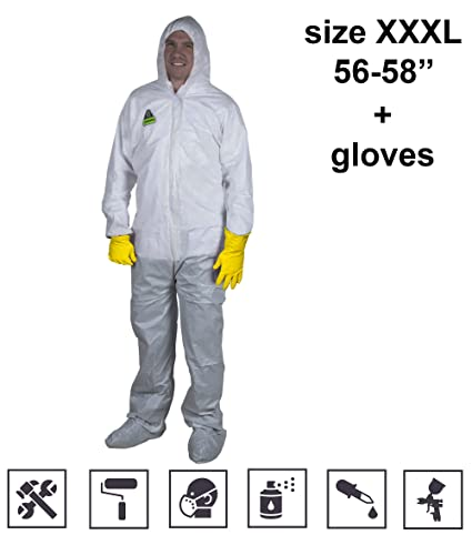 amazon com work coveralls for men big and tall white coverall with