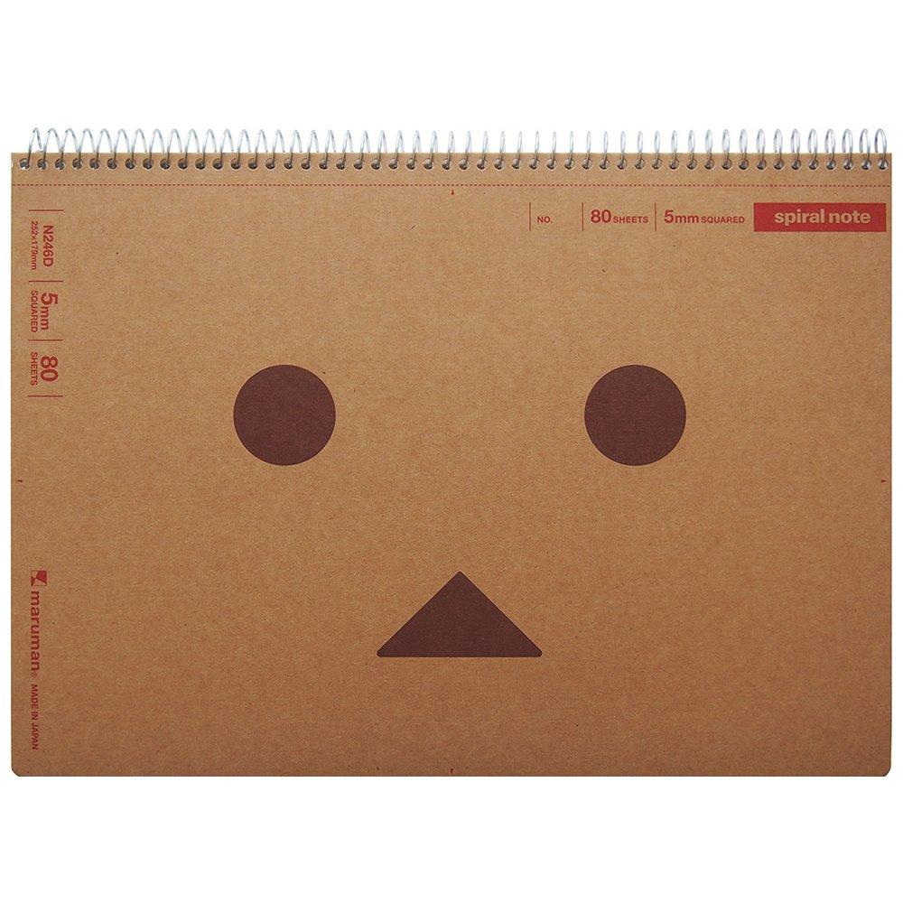 【Amazon.co.jp限定】 マルマン ノート よつばと ダンボー × スパイラルノート B5