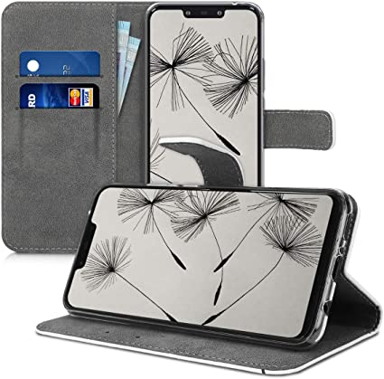 Case en Azul Oscuro DUOS kwmobile Funda movil Compatible con Samsung Galaxy J5 Carcasa de Cuero sint/ético 2017