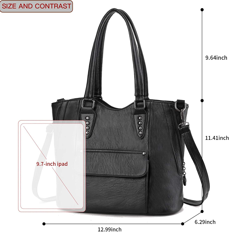 Women Handbag Hobo Shoulder Tote Purse Large Capacity Satchel Casual Bag